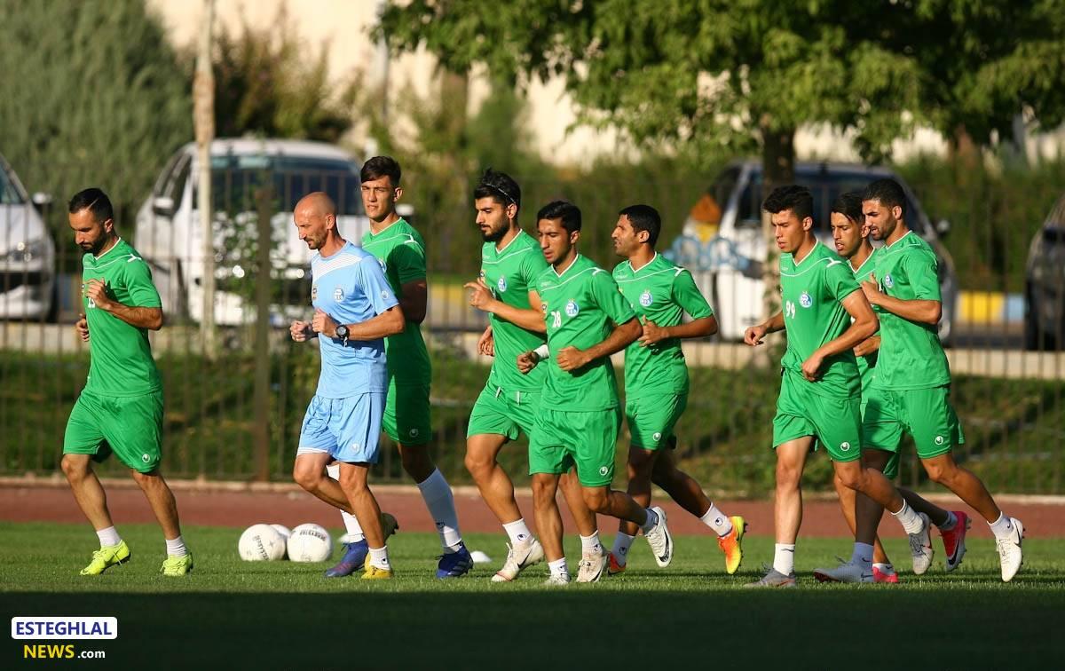 گزارش تمرین چهارشنبه عصر استقلال/ اولین تمرین چشمی؛ بازگشت بازیکنان تیم ملی امید!